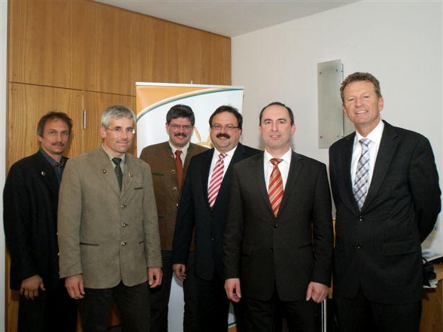 Mit dem Fraktionsvorsitzenden Hubert Aiwanger und Landtagsvizepräsident Peter Meyer begrüßten wir die Vertreter des Bundes Deutsche Forstleute im Landtag